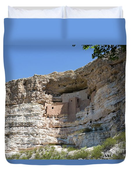 Montezuma Castle National Monument Arizona Duvet Cover