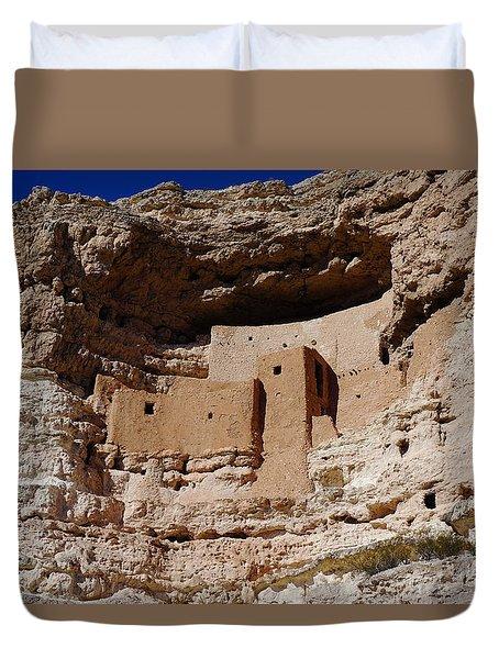 Montezuma Castle Duvet Cover