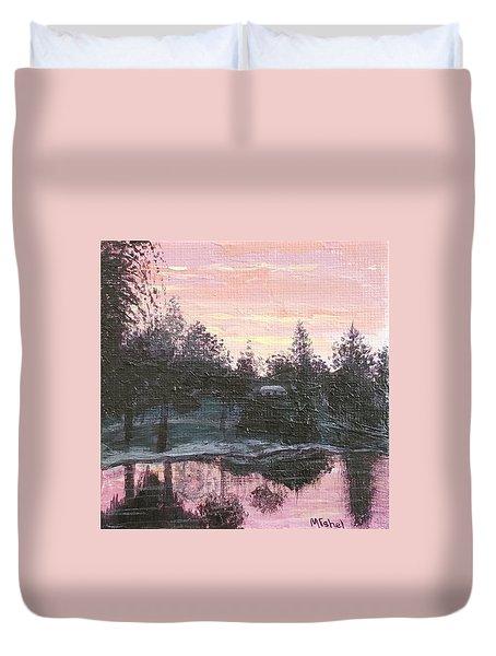 Montgomery Pond Duvet Cover