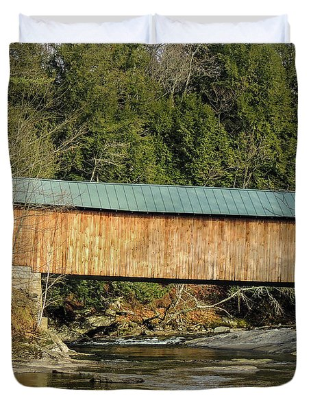 Montgomery Road Bridge Duvet Cover