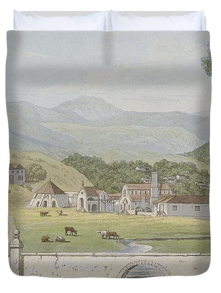 Montpelier Estates - St James Duvet Cover by James Hakewill