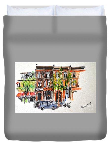 Montreal 1 Duvet Cover