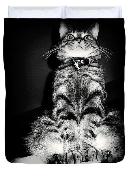 Monty Our Precious Cat Duvet Cover