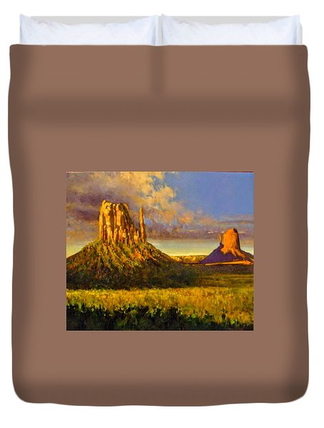 Monument Passage Duvet Cover