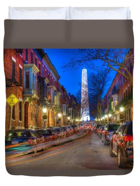 Monument Street Charlestown 023 Duvet Cover