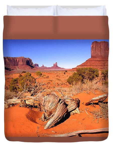 Monument Valley, Arizona, U S A Duvet Cover