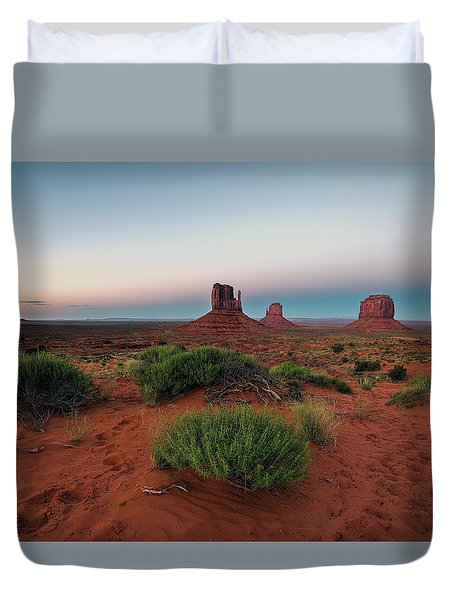 Monument Valley Duvet Cover