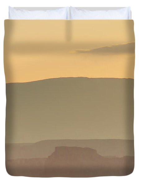 Monument Valley Layers Duvet Cover