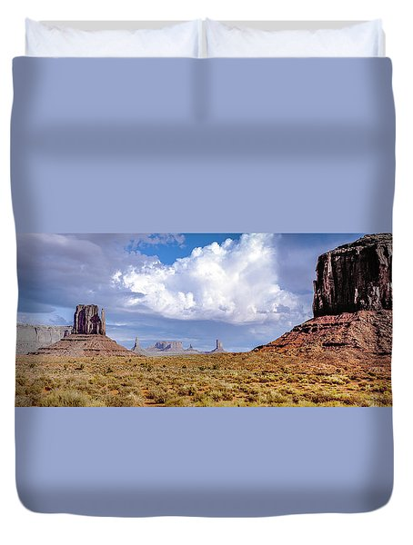 Monument Valley Mittens Duvet Cover