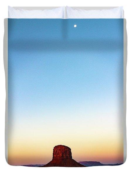 Monument Valley Morning Glory Duvet Cover