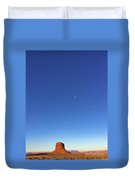 Monument Valley Morning View Duvet Cover