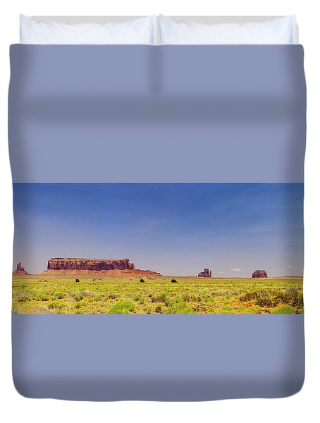 Monument Valley South View Duvet Cover
