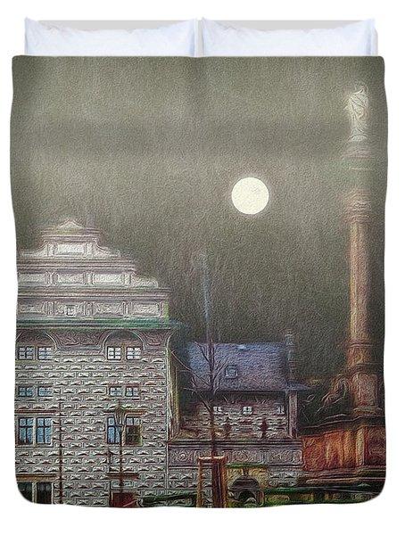 Monumental- Prague Duvet Cover