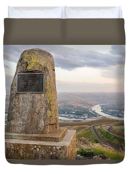 Monumental View Duvet Cover by Brad Stinson