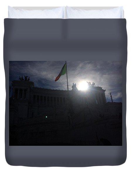 Monumento Nazionale A Vittorio Emanuele II Duvet Cover