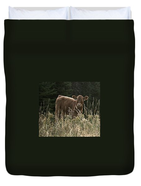 MOO Duvet Cover by Tiffany Vest
