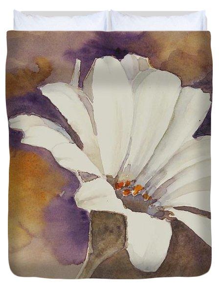 Mood Flower Duvet Cover by Gretchen Bjornson