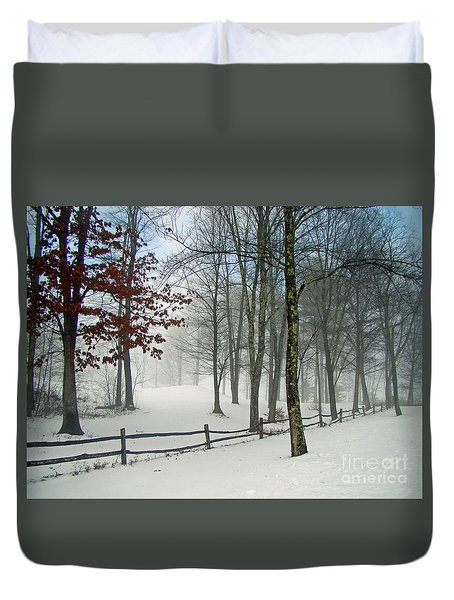 Mood Lifting Duvet Cover by Betsy Zimmerli