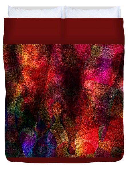 Moods In Abstract Duvet Cover