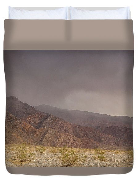 Moods Of Death Valley National Park Duvet Cover