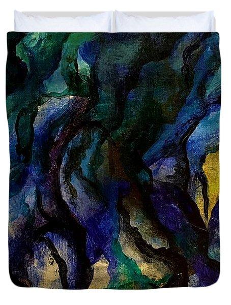 Moody Bleu Duvet Cover