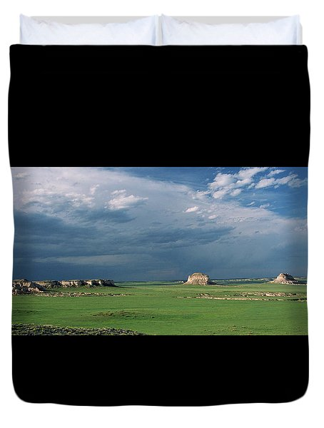 Moody-buttes Duvet Cover