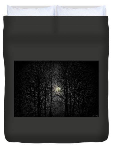 Moody Moon Duvet Cover