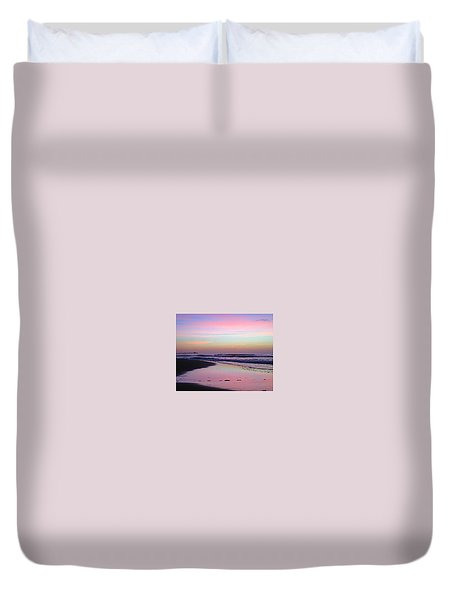 Moody Sunrise Duvet Cover