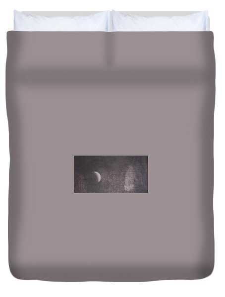 Moon And Friends Duvet Cover