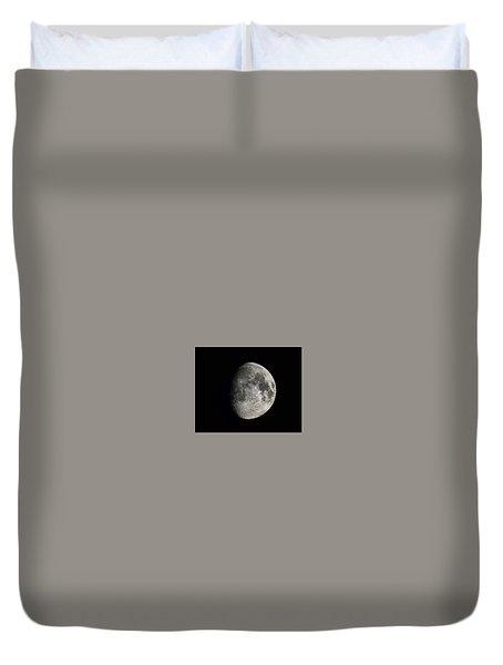 Moon, Aug 13th 2016 Duvet Cover