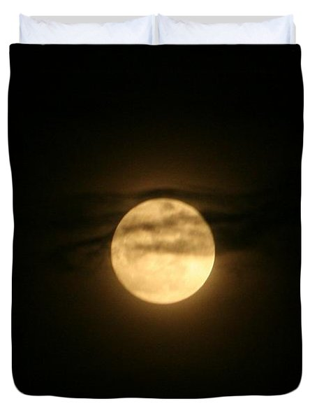 Duvet Cover featuring the digital art Moon Dance by Barbara S Nickerson