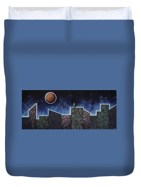 Moon Eclipse Duvet Cover