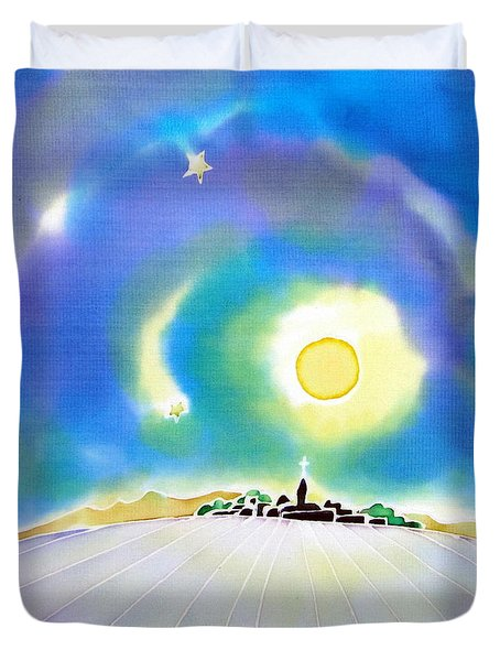 Moon Light Duvet Cover
