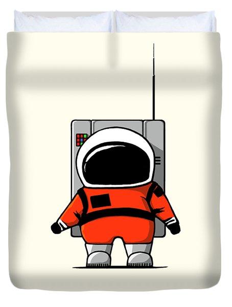 Moon Man Duvet Cover
