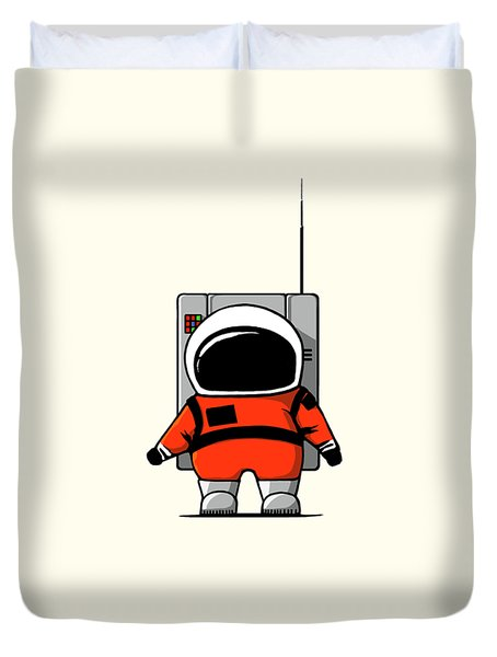 Moon Man Duvet Cover