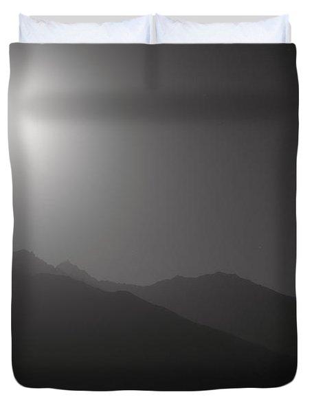 Moon Night Duvet Cover by Konstantin Dikovsky