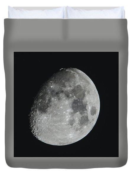 Moon On Day 12 Duvet Cover