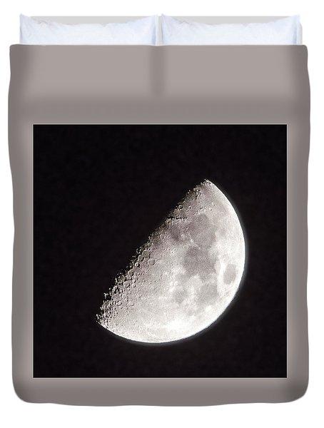 Moon On Day 7 Duvet Cover