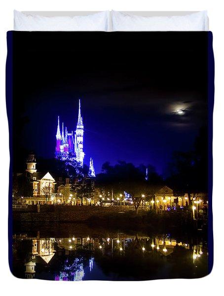 Moon Over Magic Duvet Cover
