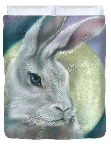 Moon Rabbit Duvet Cover