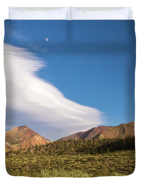 Moon Rise Duvet Cover