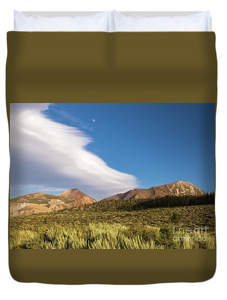 Moon Rise Duvet Cover