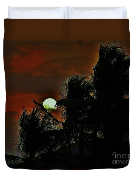 Moon Rise Duvet Cover by Craig Wood