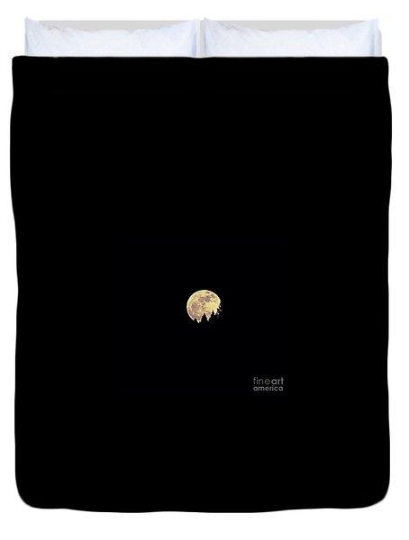Moon Rising Duvet Cover
