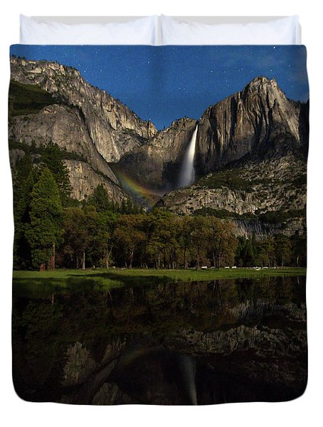 Moonbow Upper Falls Duvet Cover