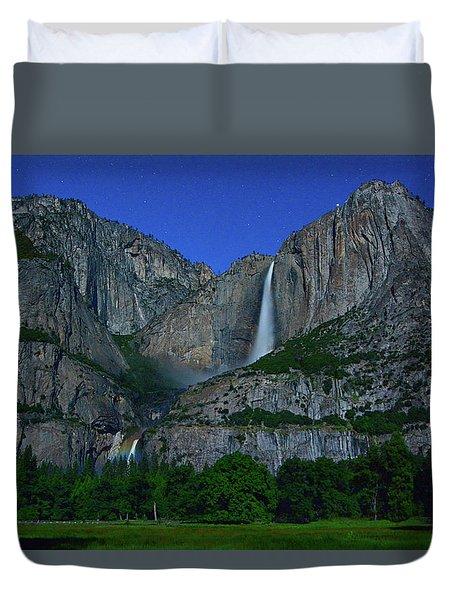 Moonbow Yosemite Falls Duvet Cover