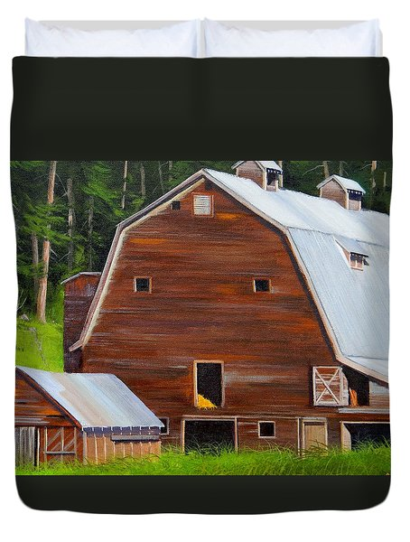 Mooney's Barn Duvet Cover