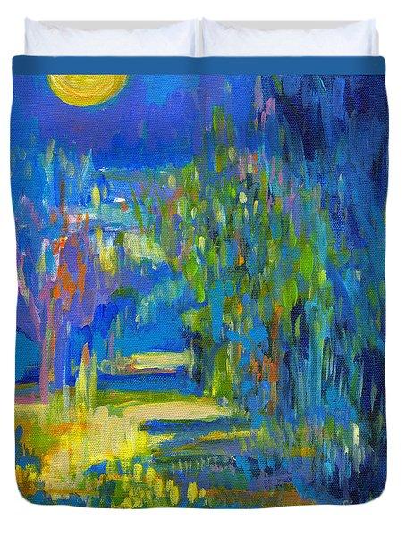 Moonflower  Duvet Cover