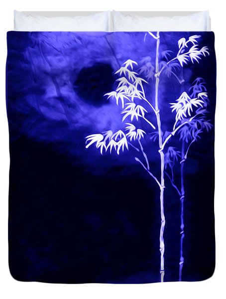 Moonlight Bamboo Duvet Cover by Lanjee Chee