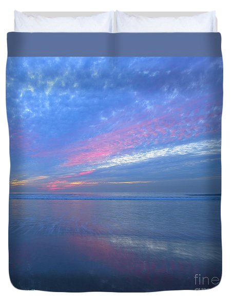 Moonlight Beach Duvet Cover